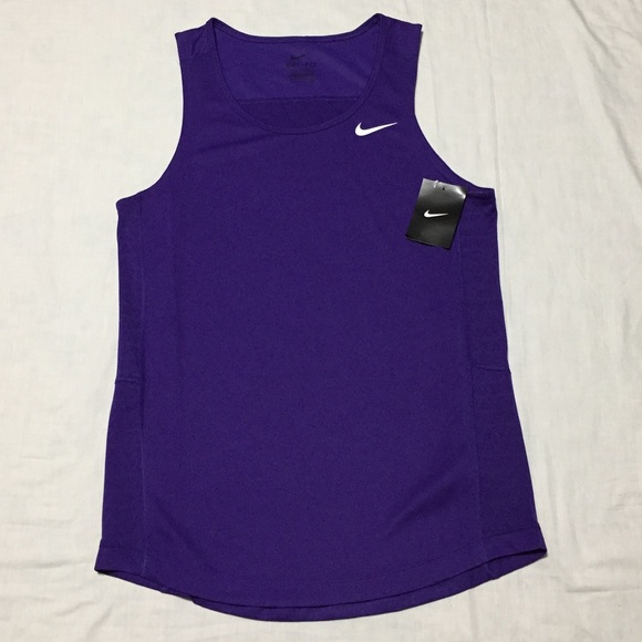 5ef71ef79f8ae9 Nike Men s Dri-fit Running Tank Top